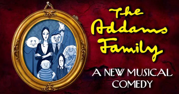 The Addams Family musical practice tracks for all parts and songs